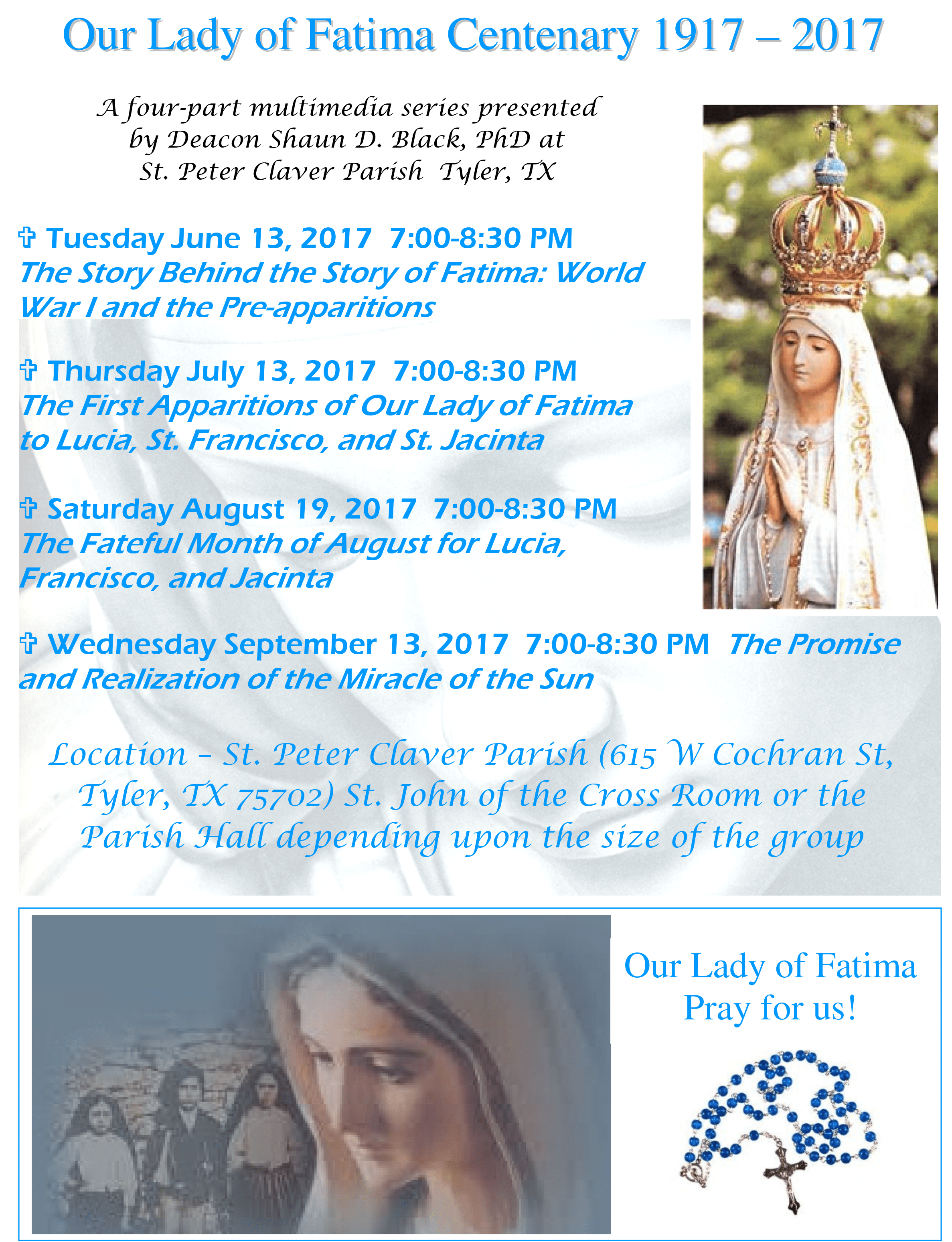 dcn shaun our lady of fatima series 2017 flyer