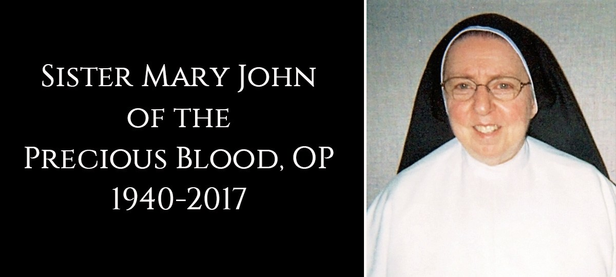 Sister Mary John Of The Precious Blood Dies After A Life Of Prayer