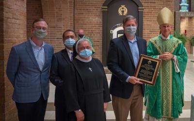 2020 Herzig Award Presented to CHRISTUS Mother Frances