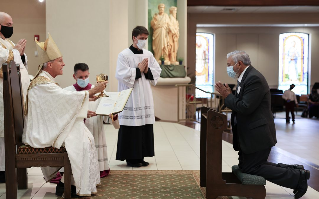 Almost Forty Acolytes Installed to Serve Parishes