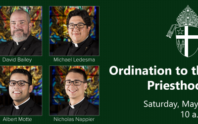 Four New Priests to be Ordained