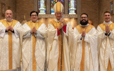 Bailey, Ledesma, Motte, Nappier Ordained Priests