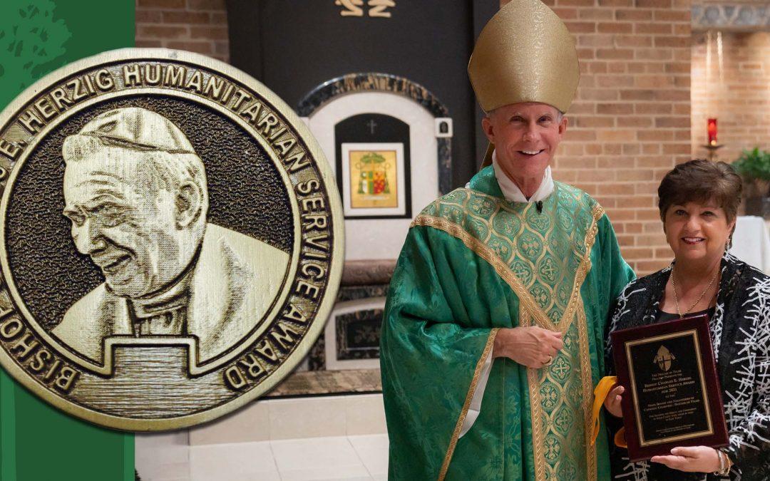 Catholic Charities Receives Herzig Award for 2021